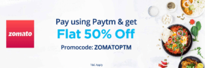 zomato offer paytm