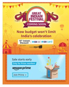 Great indian festival sale 2019